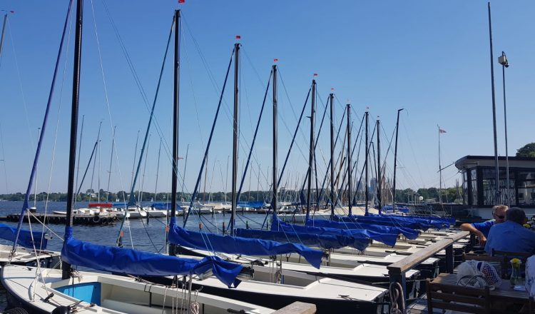 Alster-Location Boote